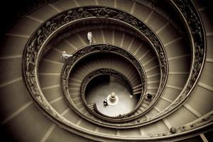Giuseppe Momo's spiral staircase at the Vatican (thetimes.co.uk)